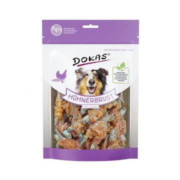 Dokas Dog Hühnerbrust mit Fisch  220 g (Menge: 6 je Bestelleinheit)