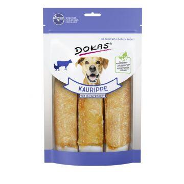Dokas Hundesnack Kaurippe mit Hühnerbrustfilet 210g (Menge: 10 je Bestelleinheit)