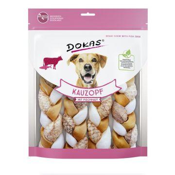 Dokas Hundesnack Kauzopf mit Fischhaut 240g (Menge: 8 je Bestelleinheit)