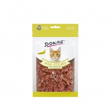Dokas Cat Ministeaks Ente & Kabeljau 40 g (Menge: 10 je Bestelleinheit)