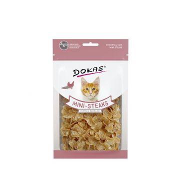 Dokas Cat Ministeaks Huhn & Kabeljau 40 g (Menge: 10 je Bestelleinheit)