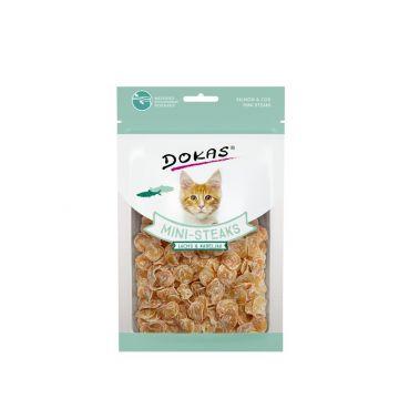 Dokas Cat Ministeaks Lachs & Kabeljau 40 g (Menge: 10 je Bestelleinheit)