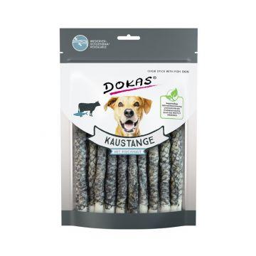 Dokas Hundesnack Kaustange mit Fischhaut 200g (Menge: 9 je Bestelleinheit)