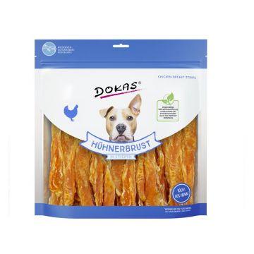 Dokas Dog Hühnerbrust in Streifen 900 g (Menge: 4 je Bestelleinheit)