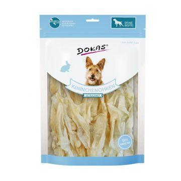 Dokas Dog Kaninchenohren ohne Fell getrocknet 180 g (Menge: 7 je Bestelleinheit)