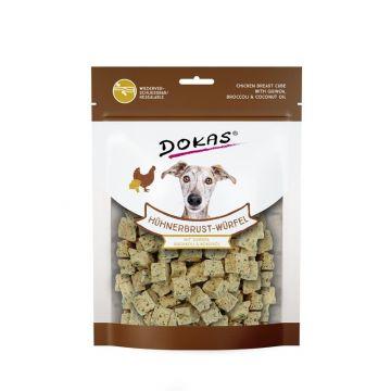 Dokas Dog Hühnerbrust-Würfel mit Quinoa, Brokkoli 150 g (Menge: 8 je Bestelleinheit)