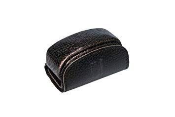 privédeur GRETA Trackertasche Classic, schwarz für Halsband 43-50 cm x 34 mm
