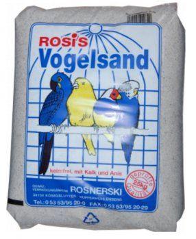 Rosis Vogelsand 5kg (Menge: 5 je Bestelleinheit)