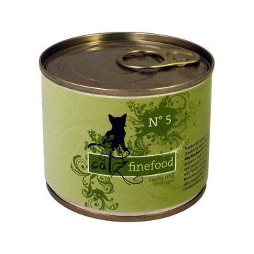 Catz finefood No.  5 Lachs 200g (Menge: 6 je Bestelleinheit)