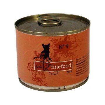 Catz finefood No.9 Wild 200g (Menge: 6 je Bestelleinheit)