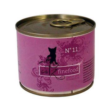 Catz finefood No. 11 Lamm & Kaninchen 200g (Menge: 6 je Bestelleinheit)