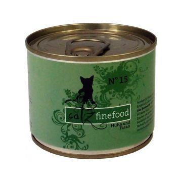 Catz finefood No. 15 Huhn & Fasan 200g (Menge: 6 je Bestelleinheit)