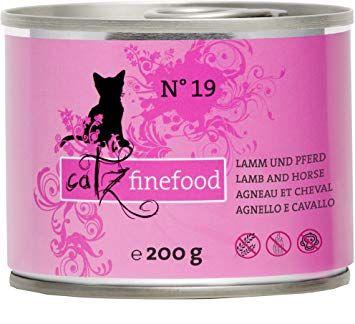 Catz finefood No. 19 Lamm & Pferd 200g (Menge: 6 je Bestelleinheit)
