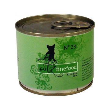 Catz finefood No. 23 Rind und Ente 200g (Menge: 6 je Bestelleinheit)