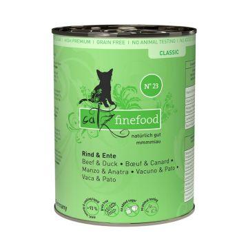 Catz finefood No. 23 Rind und Ente 400g (Menge: 6 je Bestelleinheit)