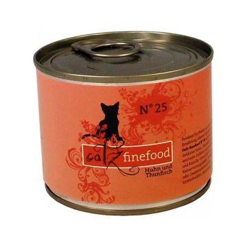 Catz finefood No. 25 Huhn & Thunfisch 200g (Menge: 6 je Bestelleinheit)