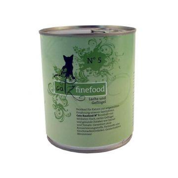 Catz finefood No.  5 Lachs 800g Dose (Menge: 6 je Bestelleinheit)