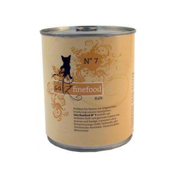 Catz finefood No.  7 Kalb 800g Dose (Menge: 6 je Bestelleinheit)