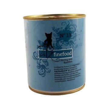 Catz finefood No. 13 Hering & Krabben 800g Dose (Menge: 6 je Bestelleinheit)