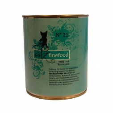 Catz finefood No. 21 Wild & Rotbarsch 800g (Menge: 6 je Bestelleinheit)