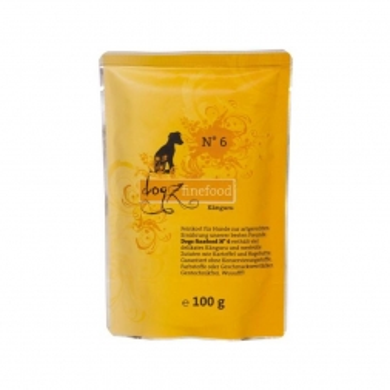 Dogz finefood Beutel No.  6 Känguru 100g (Menge: 12 je Bestelleinheit)