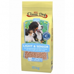 Classic Dog Light & Senior 15kg