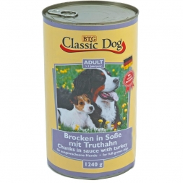 Classic Dog Dose Truthahn 1240g (Menge: 6 je Bestelleinheit)