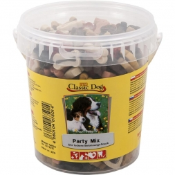 Classic Dog Snack Party Mix Eimer 500g