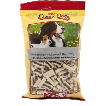 Classic Dog Snack Miniknochen mit Lamm & Reis 200g (Menge: 12 je Bestelleinheit)
