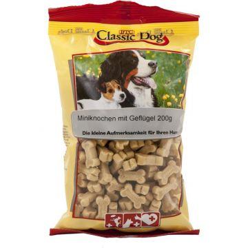 Classic Dog Snack Miniknochen mit Geflügel 200g (Menge: 12 je Bestelleinheit)