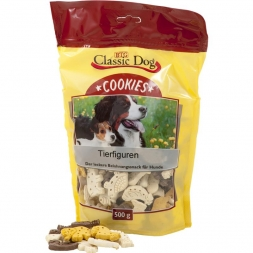 Classic Dog Snack Cookies Tierfiguren 500g
