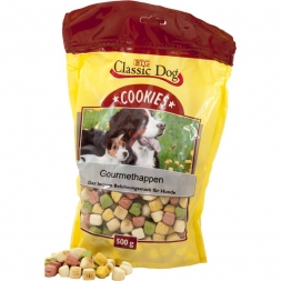 Classic Dog Snack Cookies Gourmethappen 500g