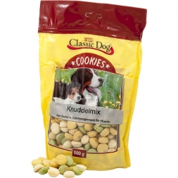 Classic Dog Snack Cookies Knuddelmix 500g