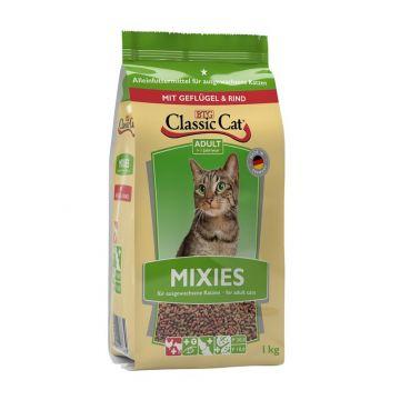 Classic Cat Trockenahrung Mixies mit Geflügel und Rind 1kg