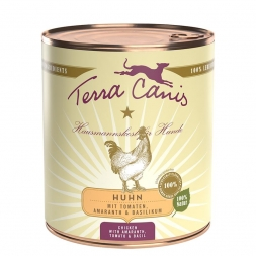 Terra Canis Dose classic Huhn 800 g (Menge: 6 je Bestelleinheit)