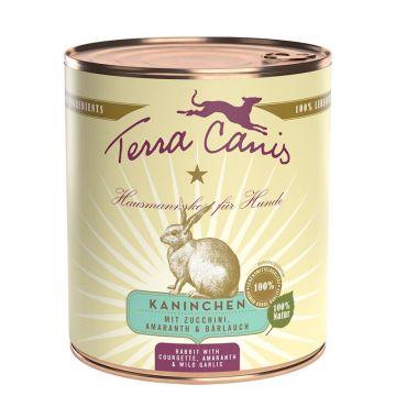 Terra Canis Dose classic Kaninchen 800 g (Menge: 6 je Bestelleinheit)