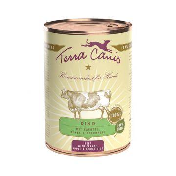 Terra Canis Dose classic Rind 400 g (Menge: 12 je Bestelleinheit)