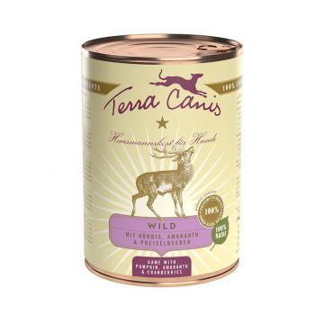 Terra Canis Dose classic Wild 400 g (Menge: 12 je Bestelleinheit)