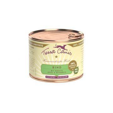 Terra Canis Dose classic Rind 200 g (Menge: 12 je Bestelleinheit)