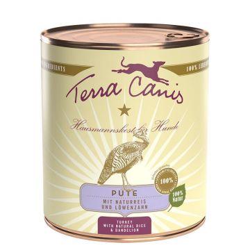 Terra Canis Dose classic Pute & Naturreis 800 g (Menge: 6 je Bestelleinheit)
