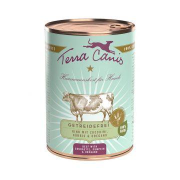 Terra Canis Dose getreidefrei Rind 400 g (Menge: 12 je Bestelleinheit)