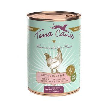 Terra Canis Dose getreidefrei Huhn 400 g (Menge: 12 je Bestelleinheit)