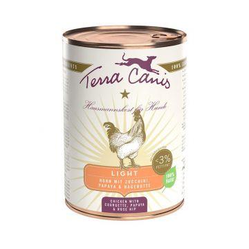Terra Canis Dose Huhn light 400 g (Menge: 12 je Bestelleinheit)