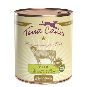 Terra Canis Dose classic Kalb 800 g (Menge: 6 je Bestelleinheit)