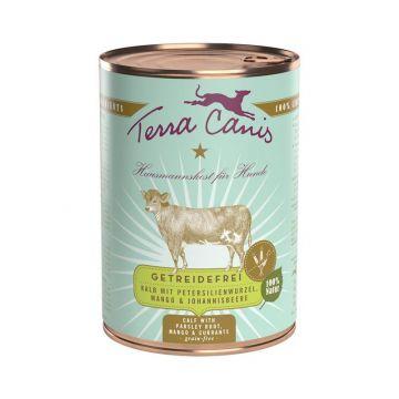 Terra Canis Dose getreidefrei Kalb 400 g (Menge: 12 je Bestelleinheit)