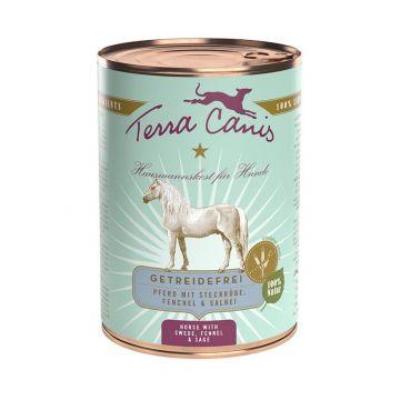 Terra Canis Dose getreidefrei Pferd 400 g (Menge: 12 je Bestelleinheit)