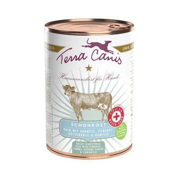 Terra Canis Dose First Aid Schonkost Kalb & Karotten 400 g (Menge: 12 je Bestelleinheit)