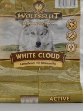 Wolfsblut White Cloud Active 15 kg