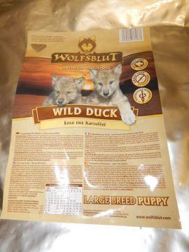 Wolfsblut Wild Duck Puppy Large 15kg