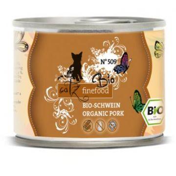 Catz finefood Dose Bio No 509 Schwein 200g (Menge: 6 je Bestelleinheit)